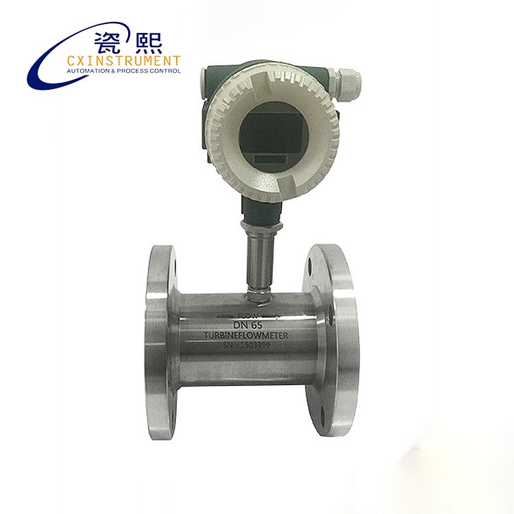 Inline Gas Flow Meter : M h measuring range local lcd display and dn pipe