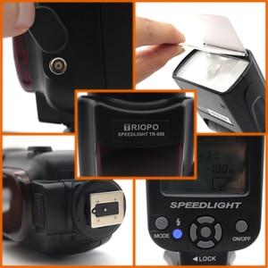 Image 3 - Triopo TR 950 Flash Speedlite universel pour Fujifilm Olympus Nikon Canon 650D 550D 450D 1100D 60D 7D 5D appareils photo reflex numériques