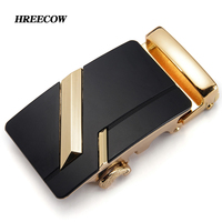 Luxury Brand Designer Men Belt Buckle Male Kemer Metal Automatic Buckle Heads High Quality Gold Horses