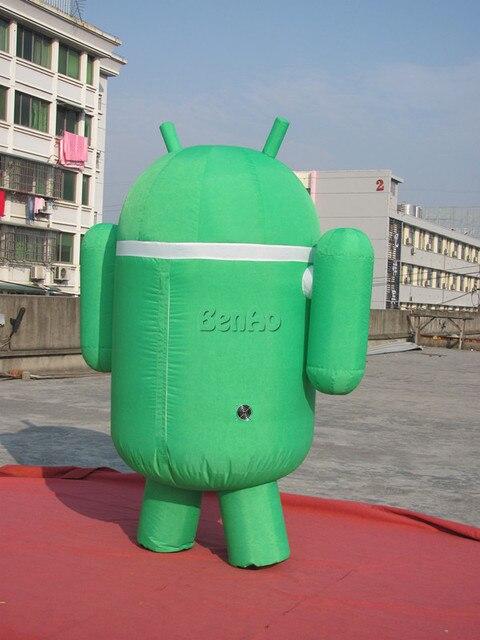 DC20 7.5' Inflatable Moving Dancing Android  / Blower 4 advertising Promo+ Repair Kits  Walk Walking Custom Promotion Cartoon