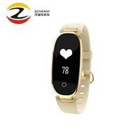2018 Female S3 Fashion Smart Bracelet Girl Women Heart Rate Monitor Smart Wrist Smartband Lady Band