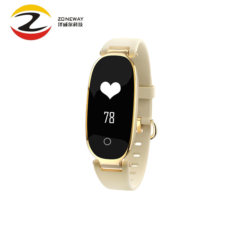 2018 Female S3 Fashion Smart Bracelet Girl Women Heart Rate Monitor Smart Wrist Smartwatch Lady Band Fitness Tracker Wristband