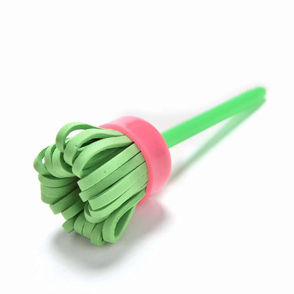 DIY flor esponja para grafiti suministros de arte pinceles herramientas de pintura de sello juguetes divertidos juguetes creativos divertidos para niños 4 unids/set