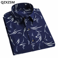 MR JIM 2017 Summer New Fashion Brand Clothing Men Short Sleeve Shirt Trend Print Shirt Slim
