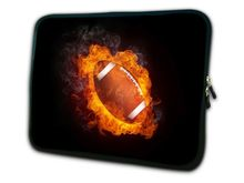 "Football 12"" Neoprene Soft Laptop Netbook Sleeve Case Bag Cover For 11.6"" Dell alienware m11x,Waterproof,Shockproof(China)"