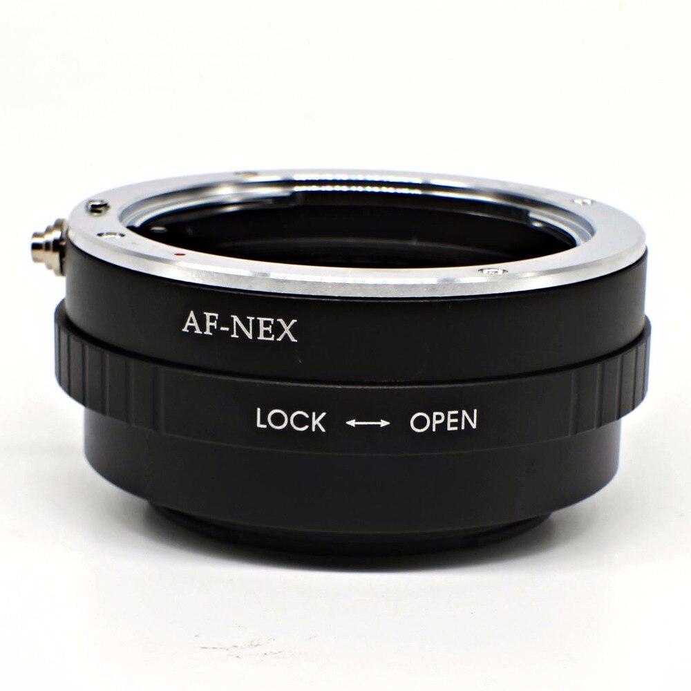 Mount Adapter Pour Sony Alpha Minolta AF à NEX E NEX3 NEX5 NEX6 NEX7 A6300 A6000 A5000 A5100 MA-NEX AF-NEX livraison gratuite
