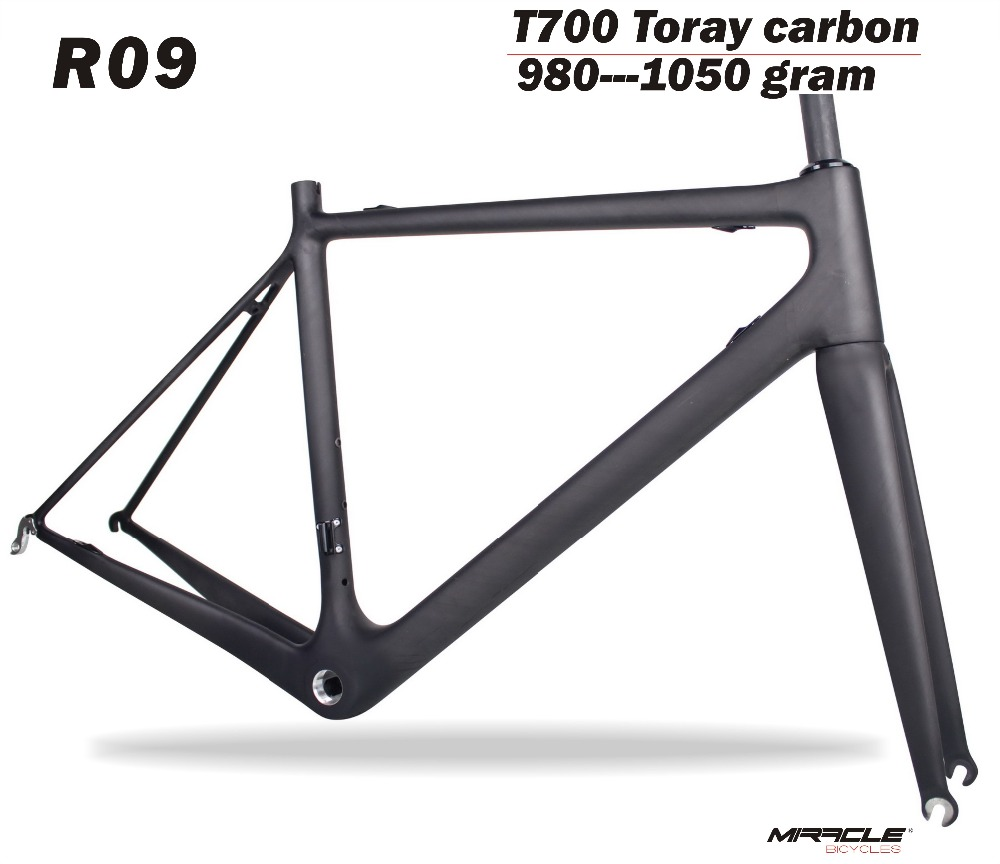 MIRACLE Carbon bike frame Road,T700 Carbon road bike frame cadre bicicleta Carbon Road Frame with UD matt carbon road