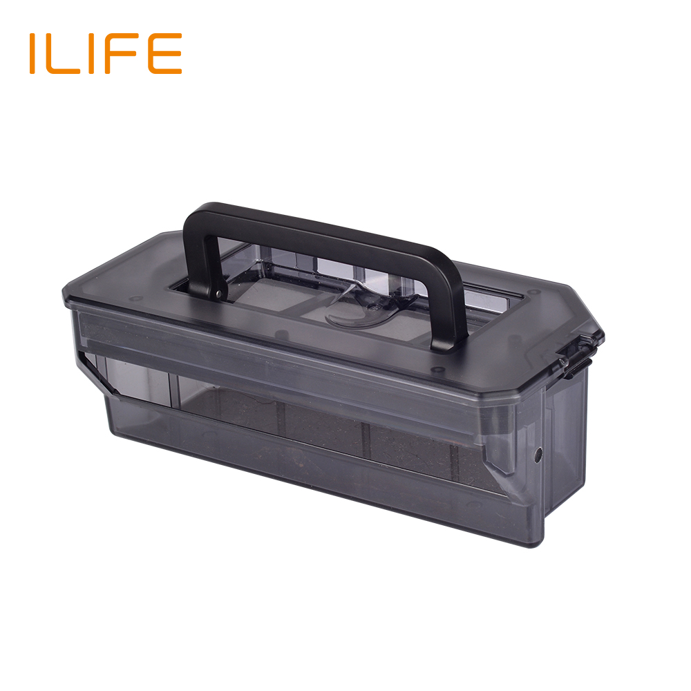 цена на chuwi ilife robot vacuum cleaner original parts dust box for ILIFE V7s V7s Pro replacement