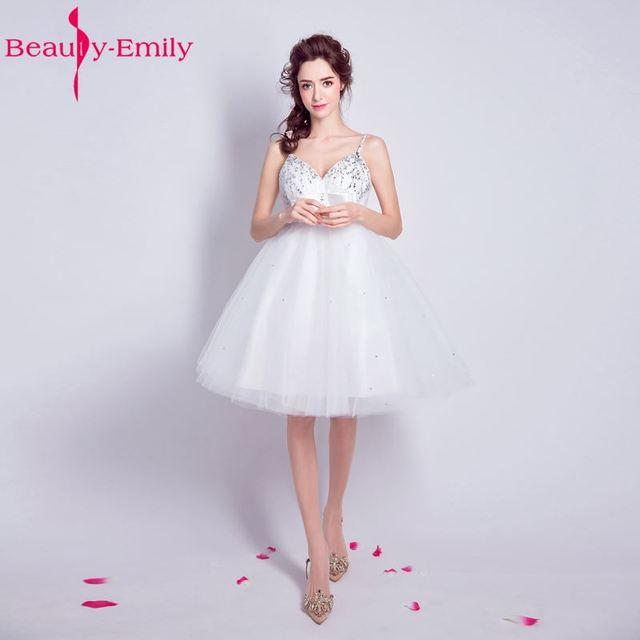Aliexpress.com : Buy Beauty Emily White Long Cheap Short Beads ...
