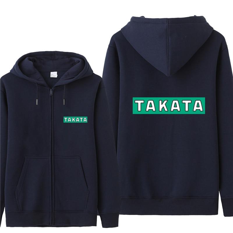 Takata Racing Sweatshirt Hoodies Men Fashion Autumn Coat Pullover Fleece Pullover Unisex Man Takata Racing Sweatshirts HS-092