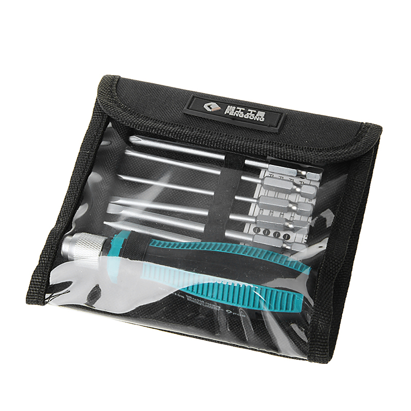 8 Magnetic Drill Bits + 1 Precision Screwdriver Torx Kit Set Repair Tools