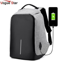 Anti Theft Usb Charging Travel Backpacks Anti Theft Security Waterproof Men Business 15 6inch Laptop Computer