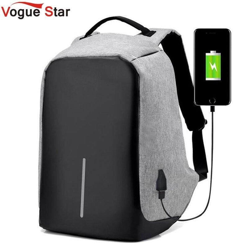 anti theft usb charging travel backpacks anti-theft security waterproof men business 15.6inch laptop computer school bag LB477
