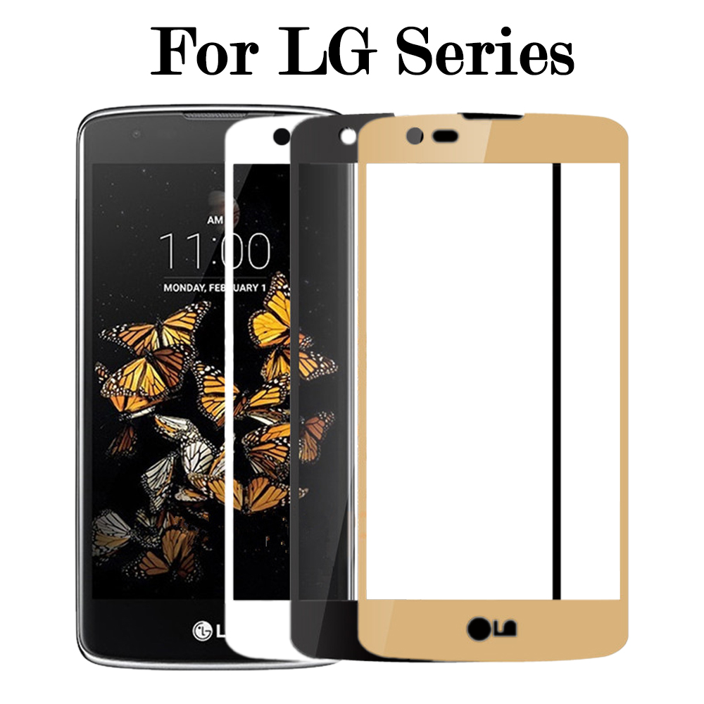 Protective Glass On The For <font><b>LG</b></font> G6 K8 k7 <font><b>x210ds</b></font> K4 2017 Tempered Glass <font><b>K</b></font> 8 <font><b>7</b></font> 4 Glas Screen Protector Cover Protection Film 2.5D image