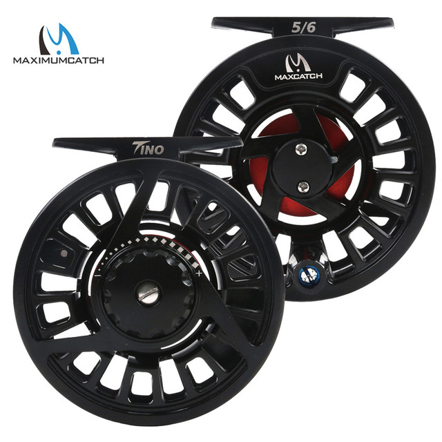 Maximumcatch Tino 5/6 7/8wt Die-casting Aluminum Fly Fishing Reel Right or Left-Handed Fly Reel and Spool