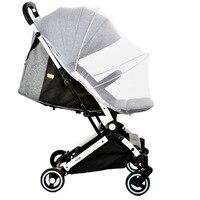 Baby Winkelwagen Klamboe Insect Shield Zuigelingen Bescherming Mesh Kinderwagen Accessoires Voor 90% Kinderwagen Kinderwagen Klamboe 4