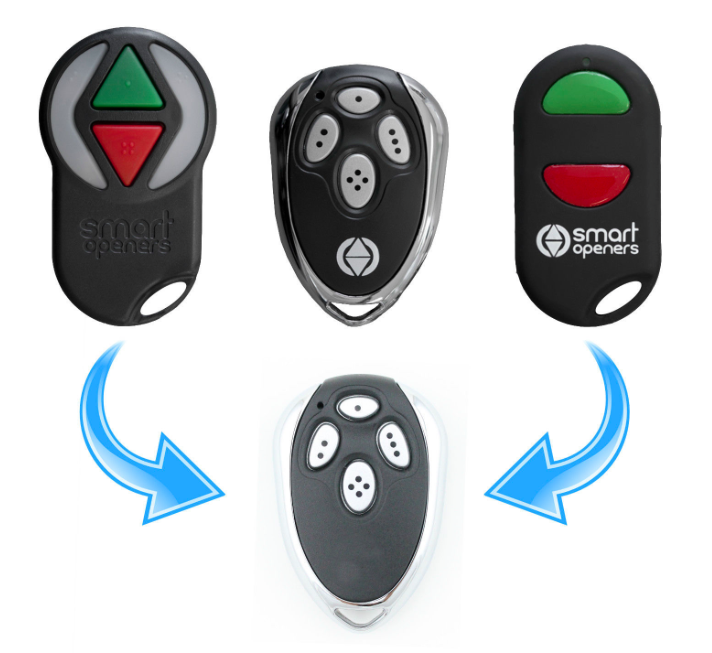 Smart Remote Control Auto Garage Gate 433.22 MHz Nano Openers replacement free shipping centurion smart 1 smart 2 smart 4 replacement remote control