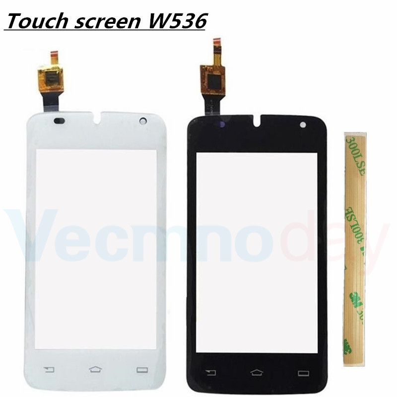 4.0''Brand New High Quality For philips W536 Touch Screen Digitizer Sensor Front Glass Lens