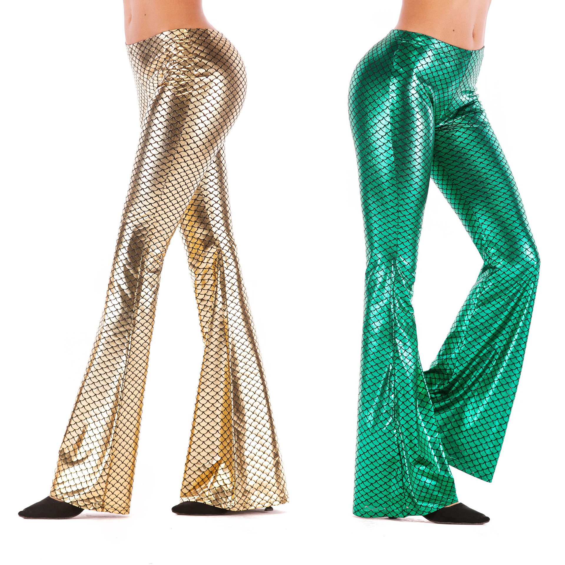 Sequin Fashion Women New Sparkle Spring Slim Flare Winter Ladies Skinny Pants Glitter High Waist Female Sexy Bell-bottom Trouser