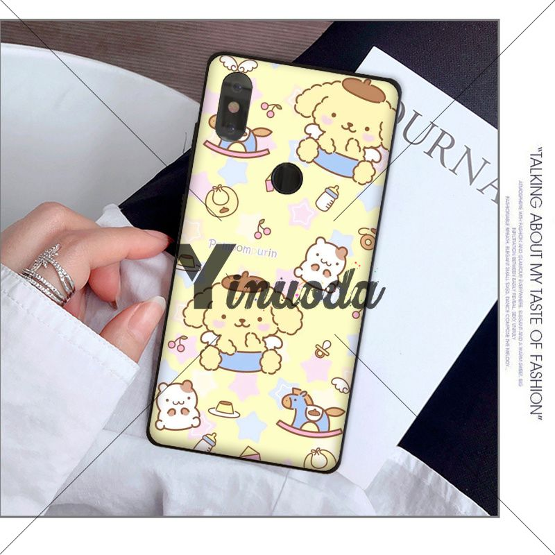 Sanrio pompompurin lovely cartoon girl