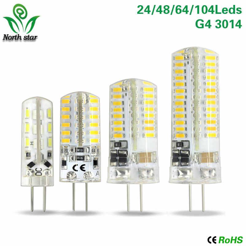 2016 New Mini Bombillas LED G4 G9 Light Bulb SMD3014 2835 3W 7W 9W 12W Lamparas LED Lamp 220V 12V Ampoule Luz Chandelier Lights