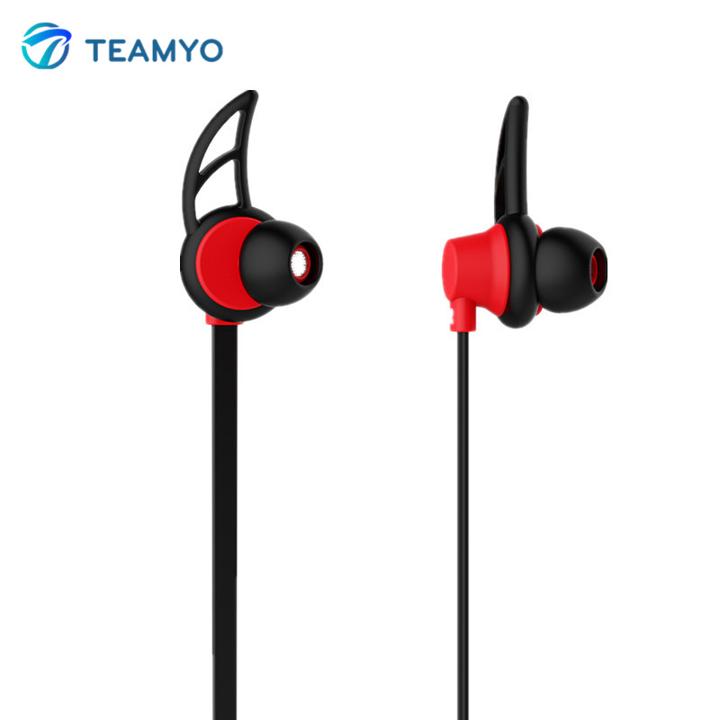 Teamyo Outdoor Sports Bluetooth Headset Earphone Wireless Earbuds Ear Hook Headphones with microphone for Mobile Phone MP3 DJ wireless headphones v4 1 bluetooth earphone stealth sports headset ear hook earpiece with mic for iphone 7 7s samsung xiaomi
