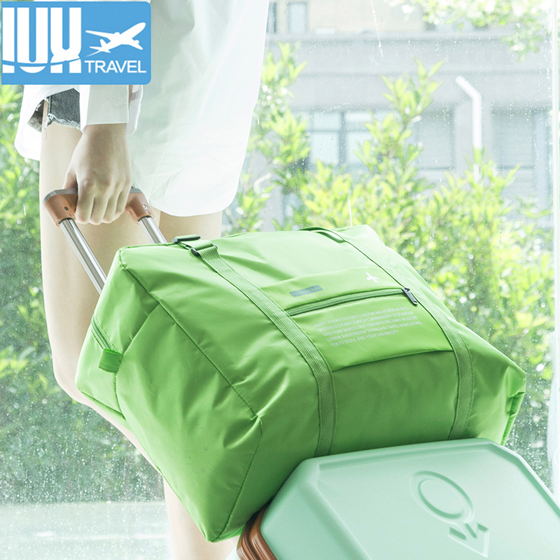 New Fashion Women Luggage Travel Bags WaterProof Folding Girl Bag Large  Capacity Nylon Travel Handbags For Men Wholesale Price 812769d680