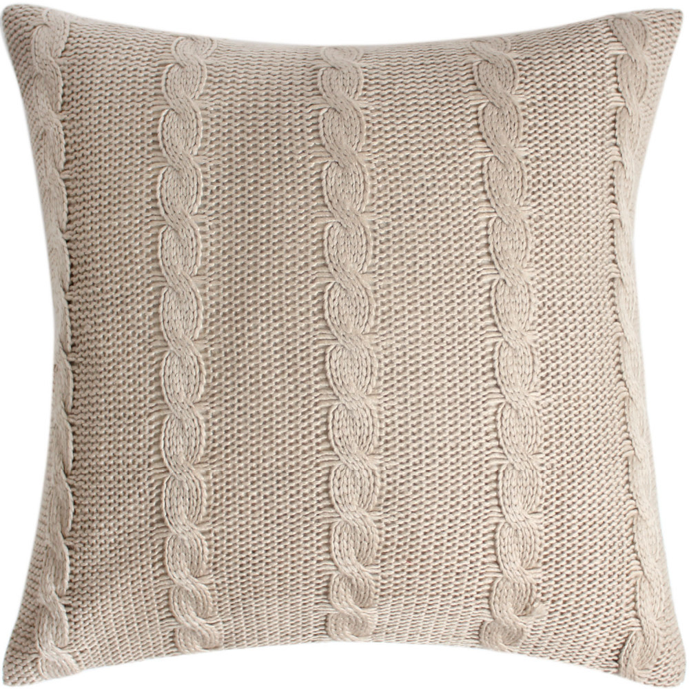 Envío libre nostalgia vintage lana Hilado cable knit Fundas de ...