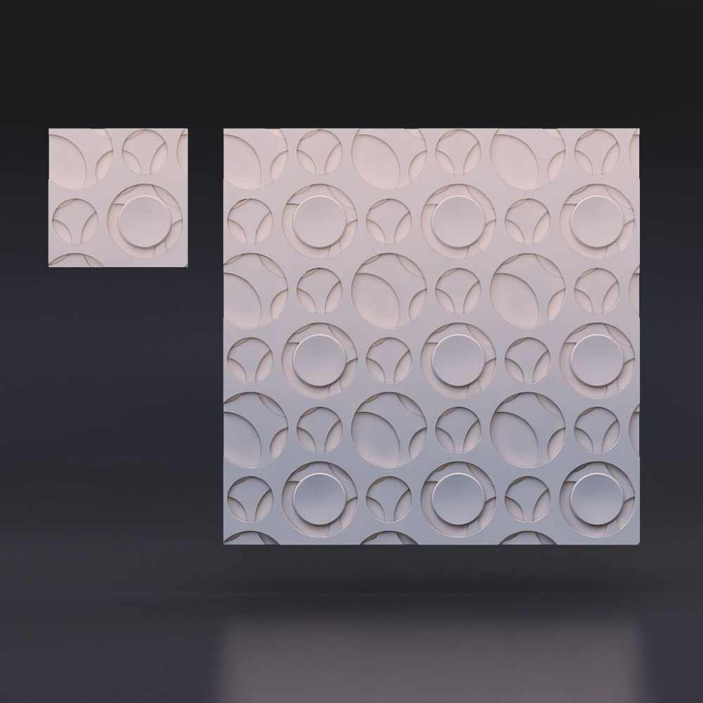 "3D Plastic decorative wall Molds  plastic 3D decorative wall panels ""Labyrinth"" for gypsum, Price for 1pcs unique design"