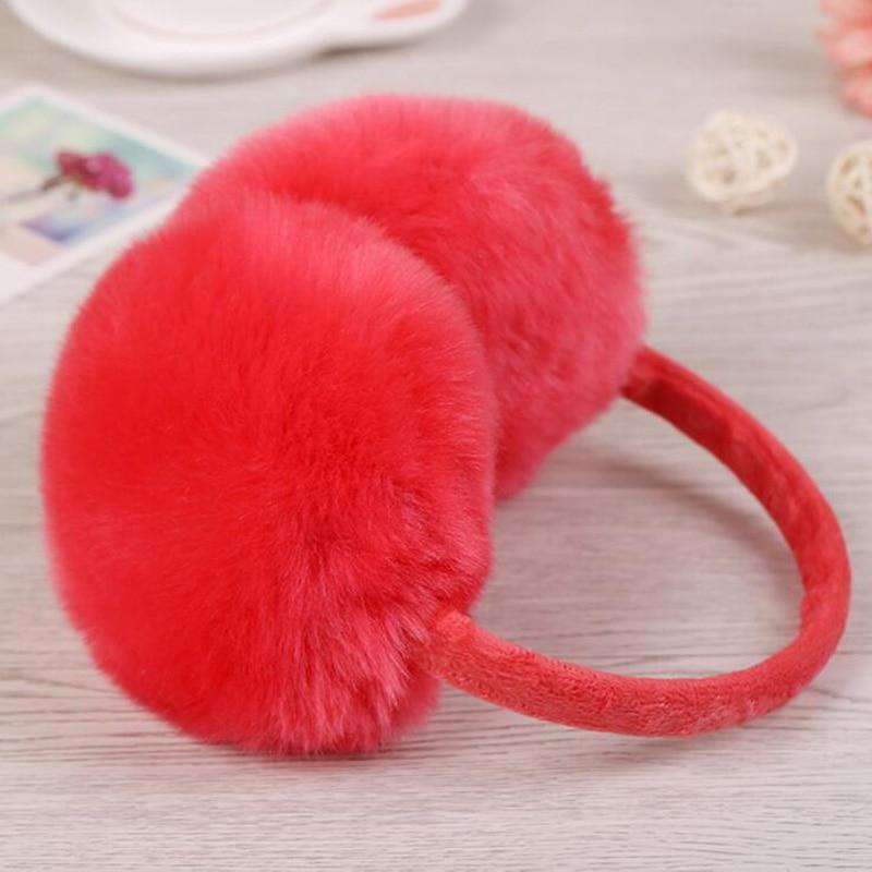 CUHAKCI Ear Warmer Outdoor Plush Adult Earmuffs Gift Winter Women Earmuffs New Ear Muffs Teenage Student Mother Girls