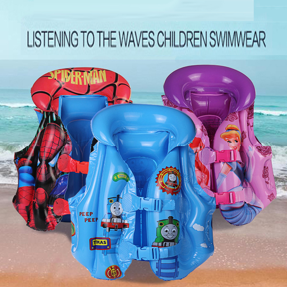 Inflatable Life Vest Child Safety Life Vest Inflatable Kids Water Sports Protection Water Sports Drifting Swimming Suit Jacket
