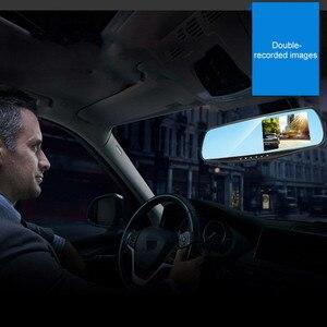 Image 3 - 4.3 Inch 1080P HD Car DVR Mirror with Rear View Camera Night Vision Car Dash Camera Auto Driving Video Recorder