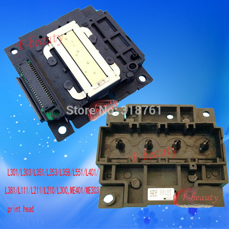 Original Print Head For Epson L300 L301 L350 L351 L353 L355 L358 L381 L551 L558 L111 L120 L210 L211 ME401 XP302 WF2520 Printhead печатающая головка для принтера epson l301 l303 l351 l381 me401 l551 l111