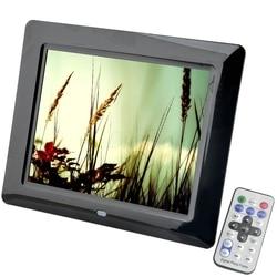 8 inch TFT Screen LED Backlight HD 800*600 Screen Digital Photo Frame Electronic Album Picture Music MP3 MP4 Porta Retrato Digit