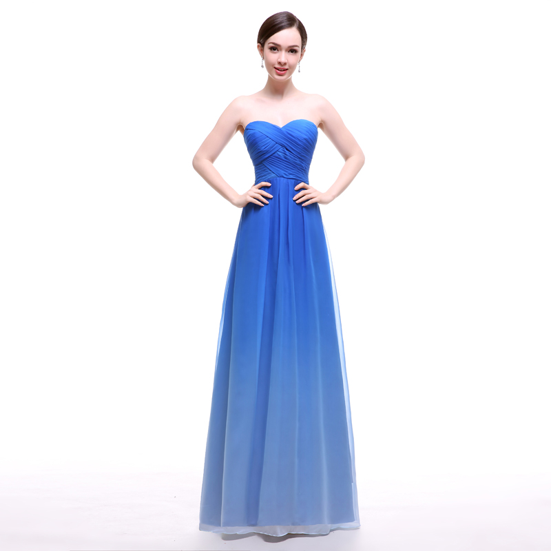 Ombre Wedding Dress: Popular Blue Ombre Dress-Buy Cheap Blue Ombre Dress Lots