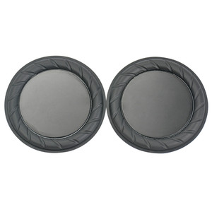 Image 2 - Aiyima 2PC 90MM 64MM Rubber Passive Radiator Speaker Bass Vibration Membrane Diaphragm Auxiliary Subwoofer DIY
