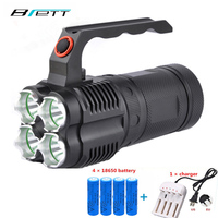 CREE XM L2 Powerful Led Flashlight 5000 Lumens Outdoor Hunting Search And Rescue Portable Searchlight