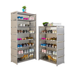 Household Dustpoof Shoe Rack Simple Multi-layer Assembly Shoes Shelf Dormitory Space Storage Rack Shoes Cabinet(China)