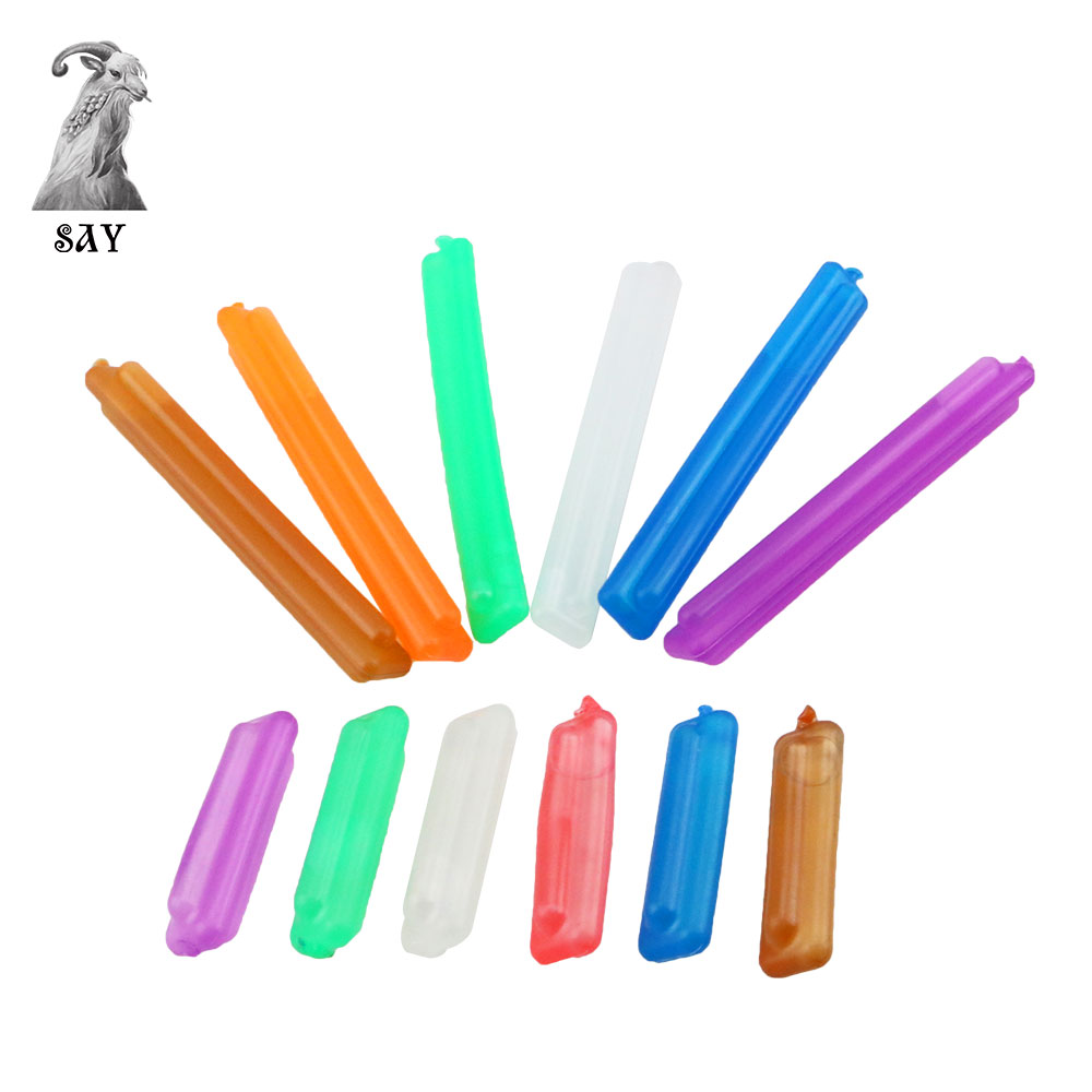 SY 6PCS Hookah Ice Capsules Freezing Cooling For Shisha Hookah Smoking Accessories Color Random 5.5cm And 11cm Length