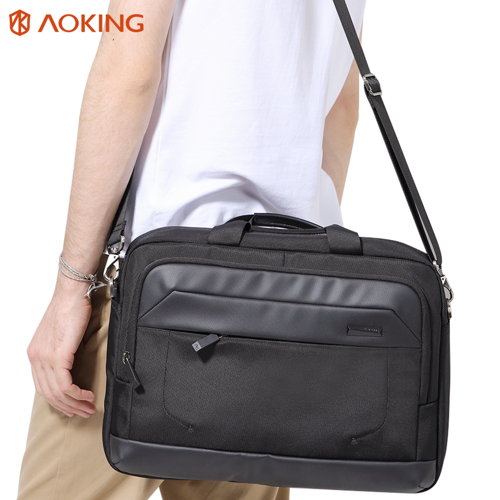 Aoking Men Leisure Messenger Bag Casual Crossbody Bag Business Leisure Men's Laptop Bags High Quality Shoulder Bags high quality casual men bag