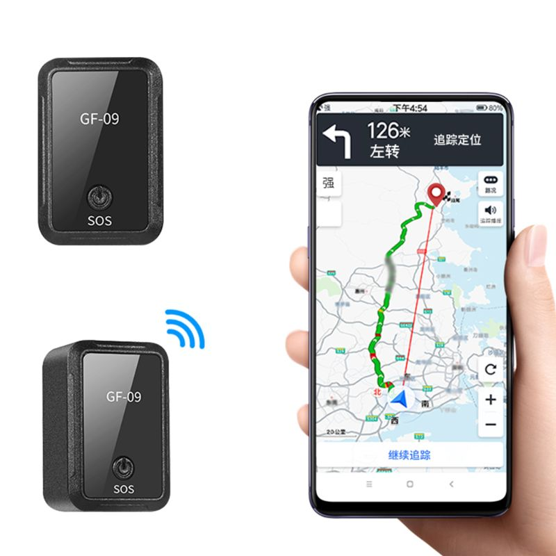 GF09 Mini Car APP GPS Locator Adsorption Recording Anti-dropping Device Voice Control Recording Real-time Tracking Equipment