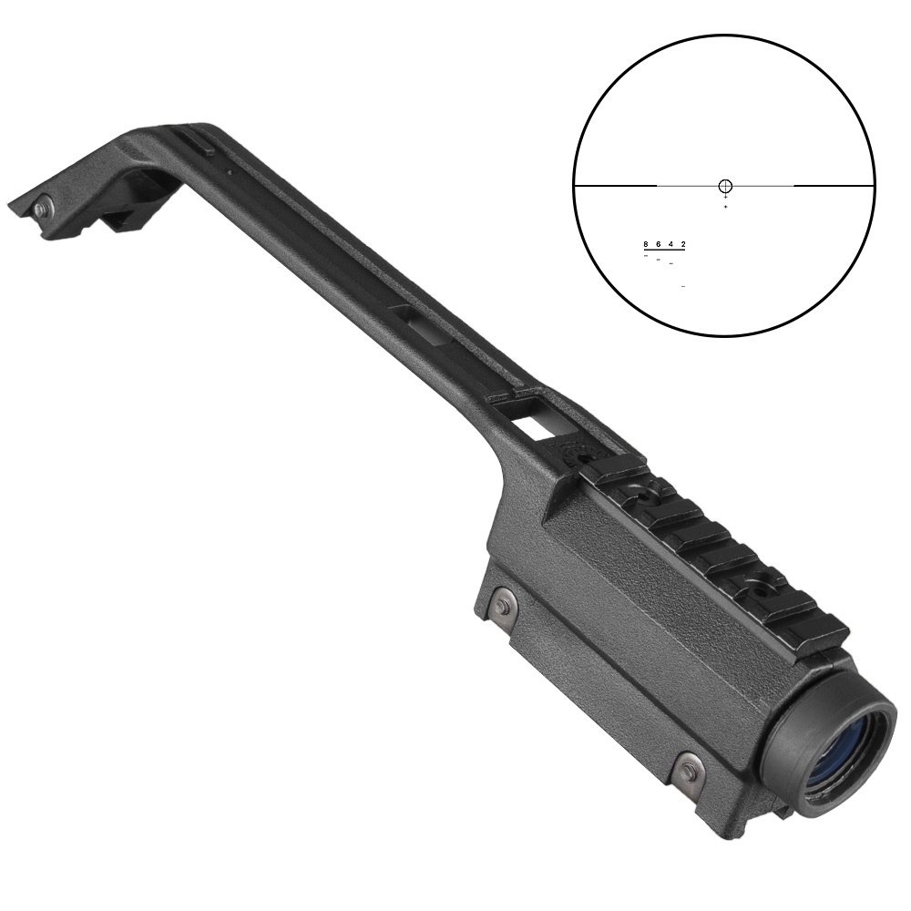 Hunting Cooperative 3.5x20 Cross Hunting Base Handle Rifle Scope G36 For Mp5 Metal Sight Weaver Rail Mount Hunting Optics