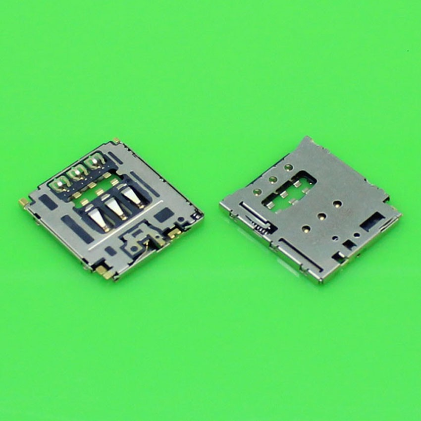 10pcs/Lot New Sim card Reader Socket Tray Slot Holder For Sony T3 M2 M50W D5102 D5103 D5106 Replacement