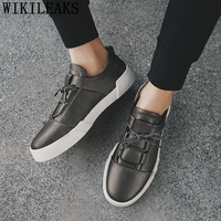 mens shoes genuine leather fashion mens shoes casual white leather sneakers designer shoes men high quality black sneakers bona