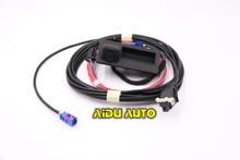 RCD510 RNS510 RGB REAR LOW CAMERA KIT RETROFIT FOR VW GOLF PLUS JETTA MK6 VI TIGUAN PASSAT VARIANT