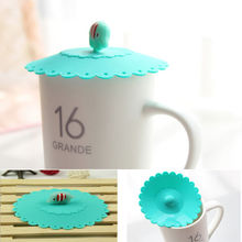 Durable Silicones Elephant Leakproof Coffee Suction Lid Sealed Cup Cover 1pc