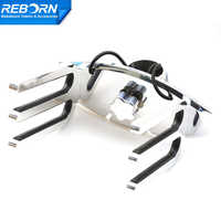 Reborn Pro quick release wakeboard rack polished