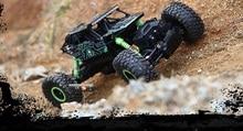 Ewellsold Rastreadores de Rock RC 4WD Coche 4×4 de Conducción de Coches de Doble Motores de Accionamiento Bigfoot Coche de Control Remoto Modelo De Vehículo de Juguete