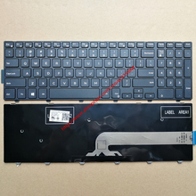 US New keyboard for DELL 7000 7557 7748 15-5000 5545 5543 5542 559 7559 5547 Dell Inspiron 15-3000 Series 3549 3567 3568 3541(China)