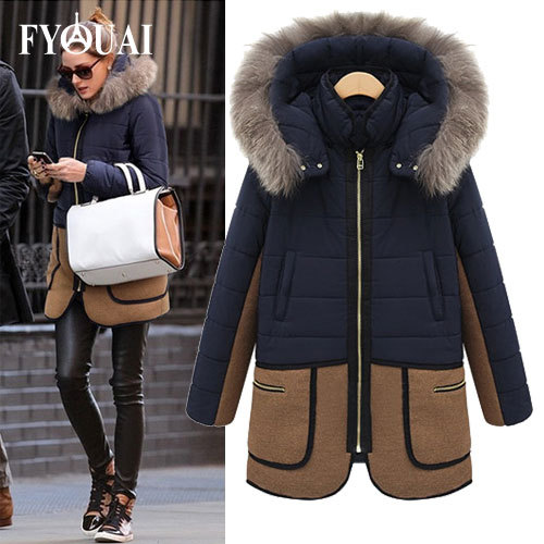Warm winter jackets ladies – Novelties of modern fashion photo blog